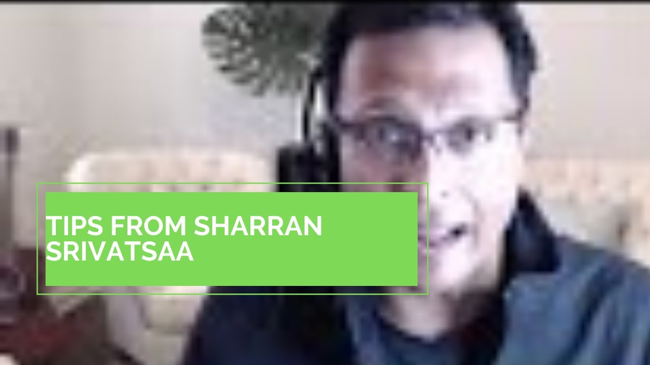 Real Estate Coaching: Tips from Sharran Srivatsaa