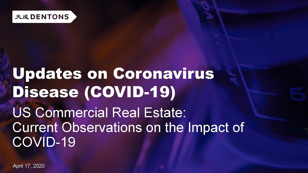 US Commercial Real Estate: Current Observations on the Impact of COVID-19