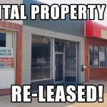 Commercial Lease Signed on Rental Property #25! Smoothie and Yoga Shop Moving in!