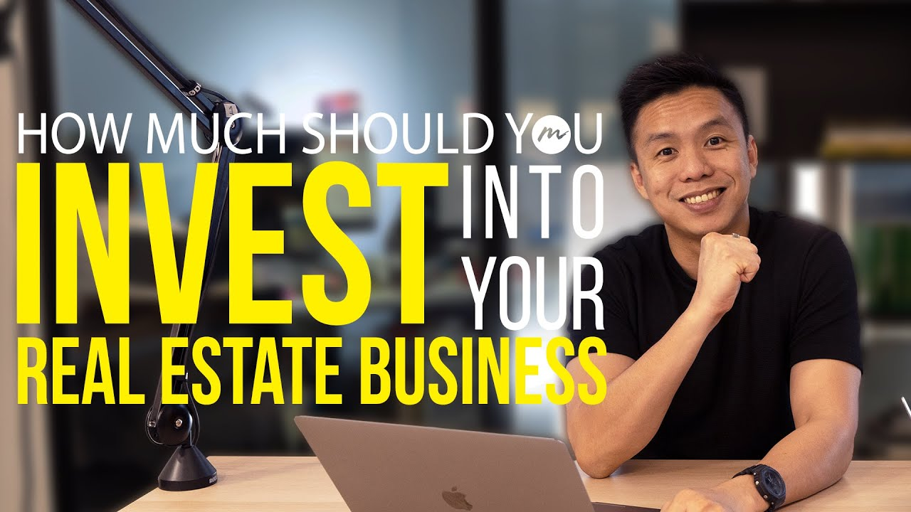 How Much Should You Invest Into Your Real Estate Business? | PLB SalesX School