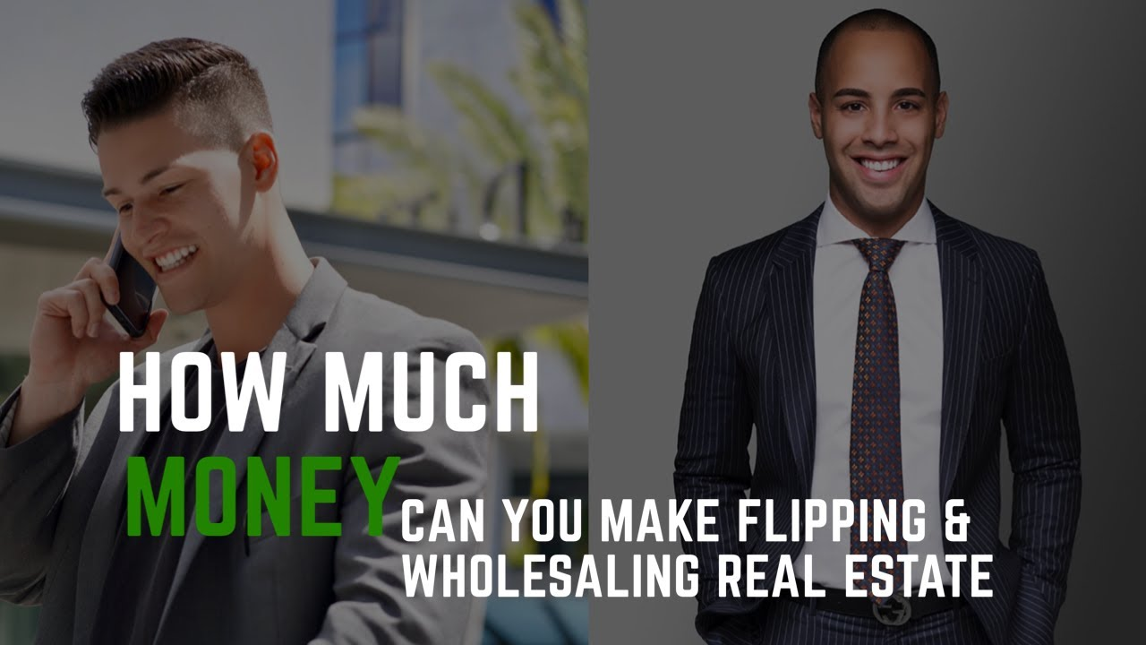 How much money can you really make flipping and wholesaling real estate? The Andrew Walsh Podcast
