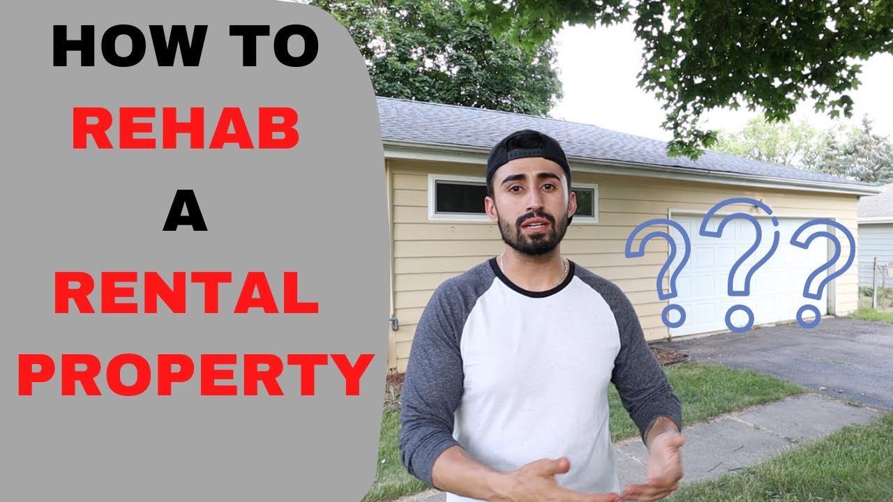 How to rehab a Rental Property (or a flip)