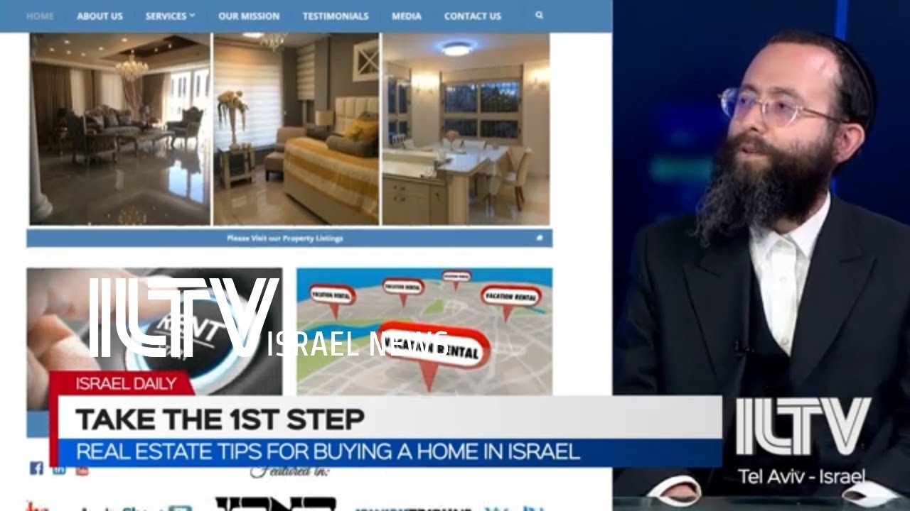 Real estate tips for buying a home in Israel - Shia Getter