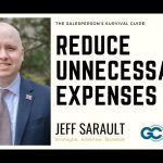 Reduce Unnecessary Expenses (of Money and Time)   The Salesperson's Survival Guide
