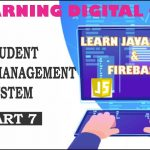 Student Result Management System (How to retrieve and display data from firebase database) part 7
