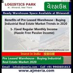 Why to Invest in Pre Leased Warehouse  Buying Industrial Real Estate Market Trends in 2020