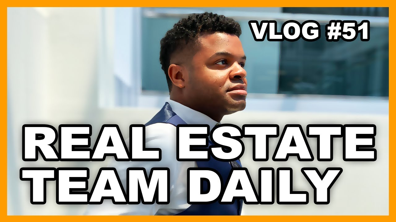Working In A Real Estate Team | vlog #51