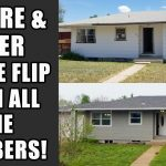 Complete Before and After House Flip: Bought for $160k and sold for $277k