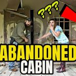 Creepy Abandoned CAMP Murder Scene? We Found An Abandoned Cabin In The Woods! We Go Inside!