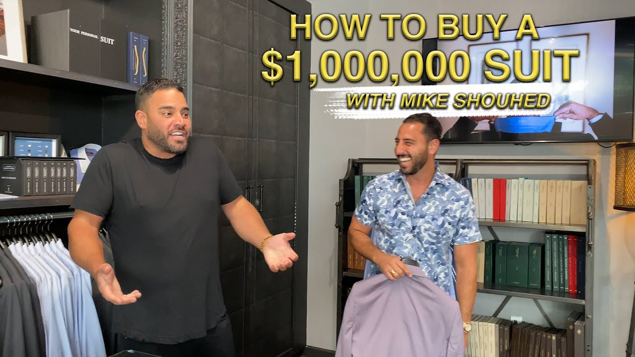 HOW TO BUY A MILLION DOLLAR SUIT WITH MIKE SHOUHED | JOSH ALTMAN | REAL ESTATE | EPISODE #66