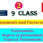 Introduction to Polynomials and Degree of polynomial      Class 9       CBSE     SCERT