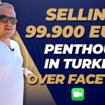 Selling Real Estate in Turkey Alanya Over FACETIME! (DETAILED TOUR )