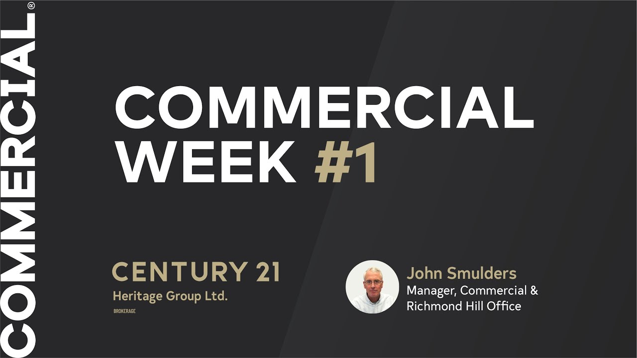 Commercial Real Estate Week 1