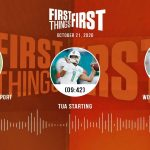 Cowboys coaching report, Tua starting, World Series (10.21.20) | FIRST THINGS FIRST Audio Podcast
