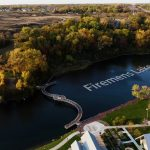 Drone footage test labeled for commercial real estate
