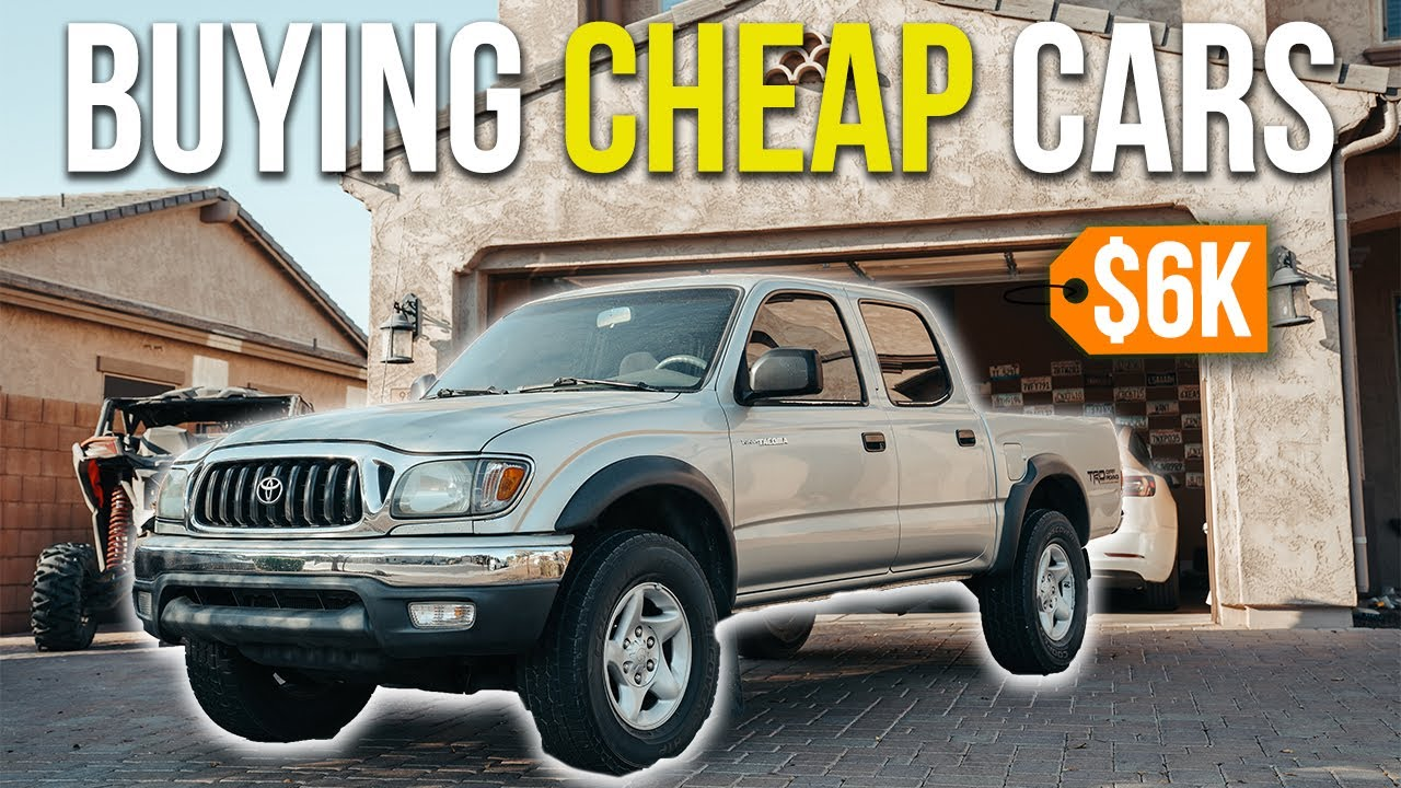 How To Buy Cheap Cars To Resell For Profit?