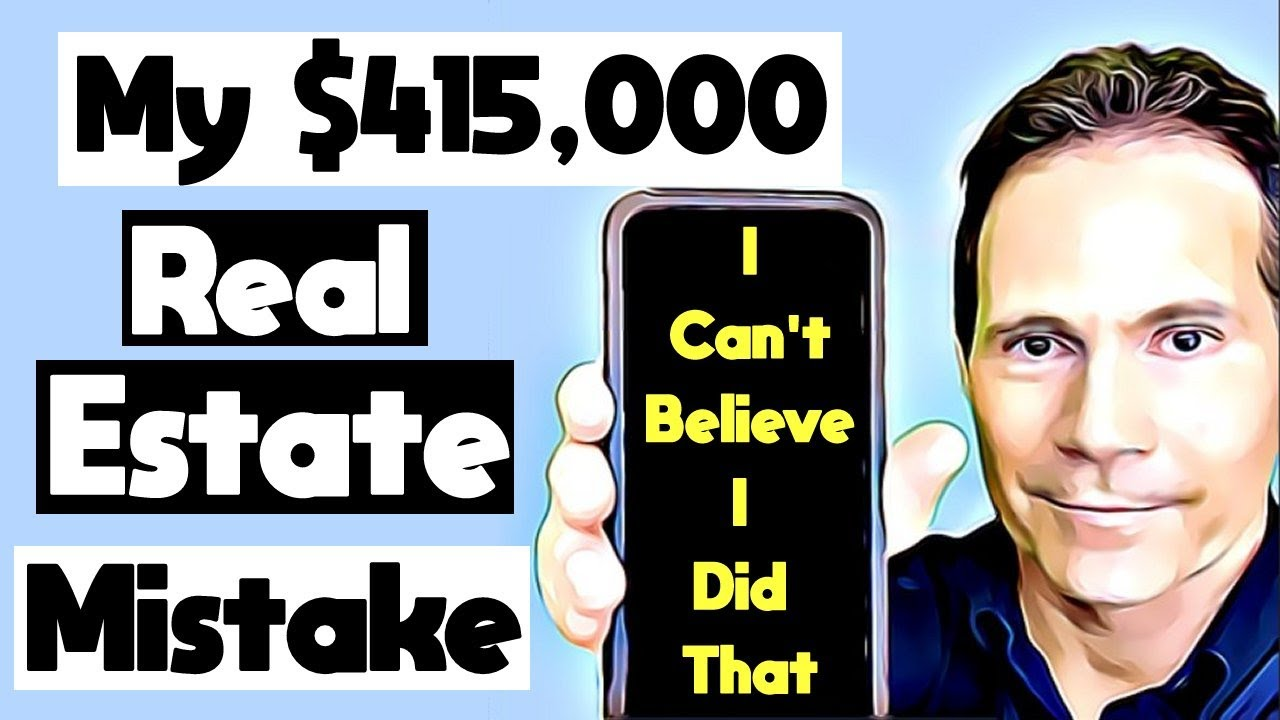 🔴 My $415,000 Real Estate Investing Mistake 🔴 Real Estate Investing For Beginners 🔴