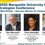 """Part 2 2020 Marquette Real Estate Strategies Conference """"Diversity in Real Estate - Success Stories"""""""