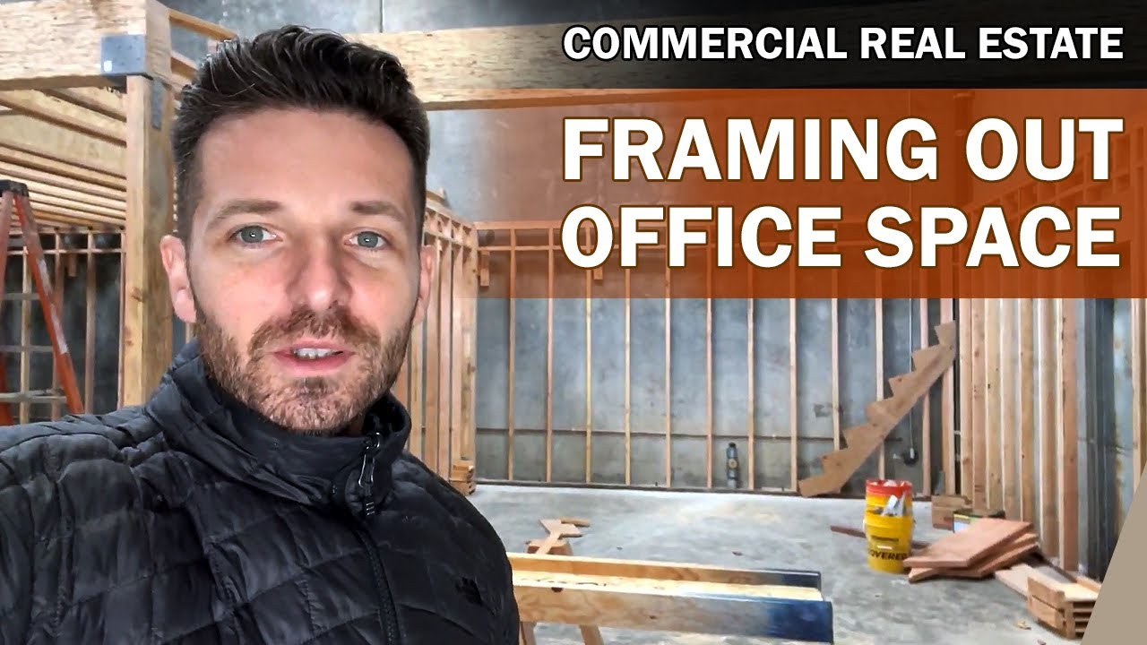 COMMERCIAL REAL ESTATE REMODEL UPDATE | Dream Office and YouTube Studio + Podcast Room | Part 6