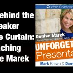 Ep. 65 Live Coaching With Denise Marek, Worry-Management Expert