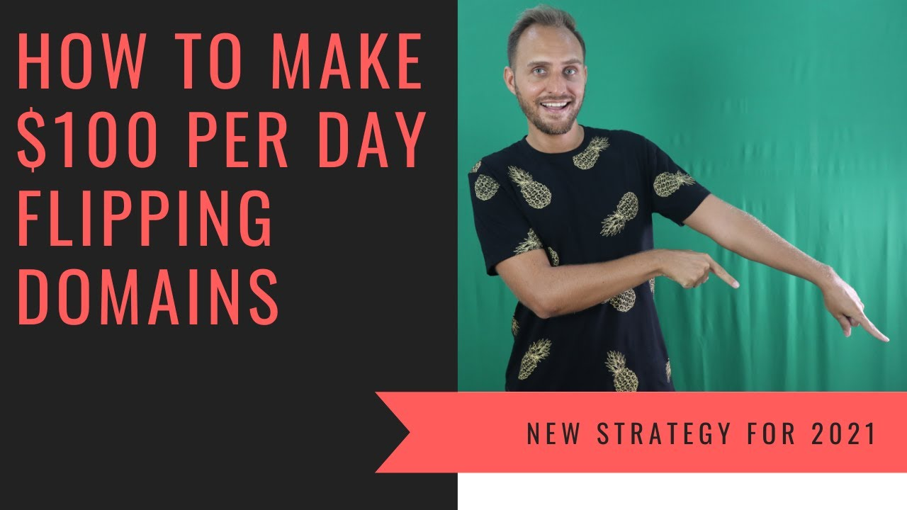 How to Make $100 Per Day Flipping Domain Names
