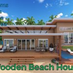 Modern Wooden Beach House / Simple Beach House
