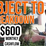 Subject To Deal Breakdown (Mobile Home Profits)