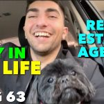 A DAY IN THE LIFE OF A REAL ESTATE AGENT! VLOG 63