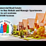 Commercial Real Estate How Buy Rehab and Manage Apartments / How to set systems / use VASH System