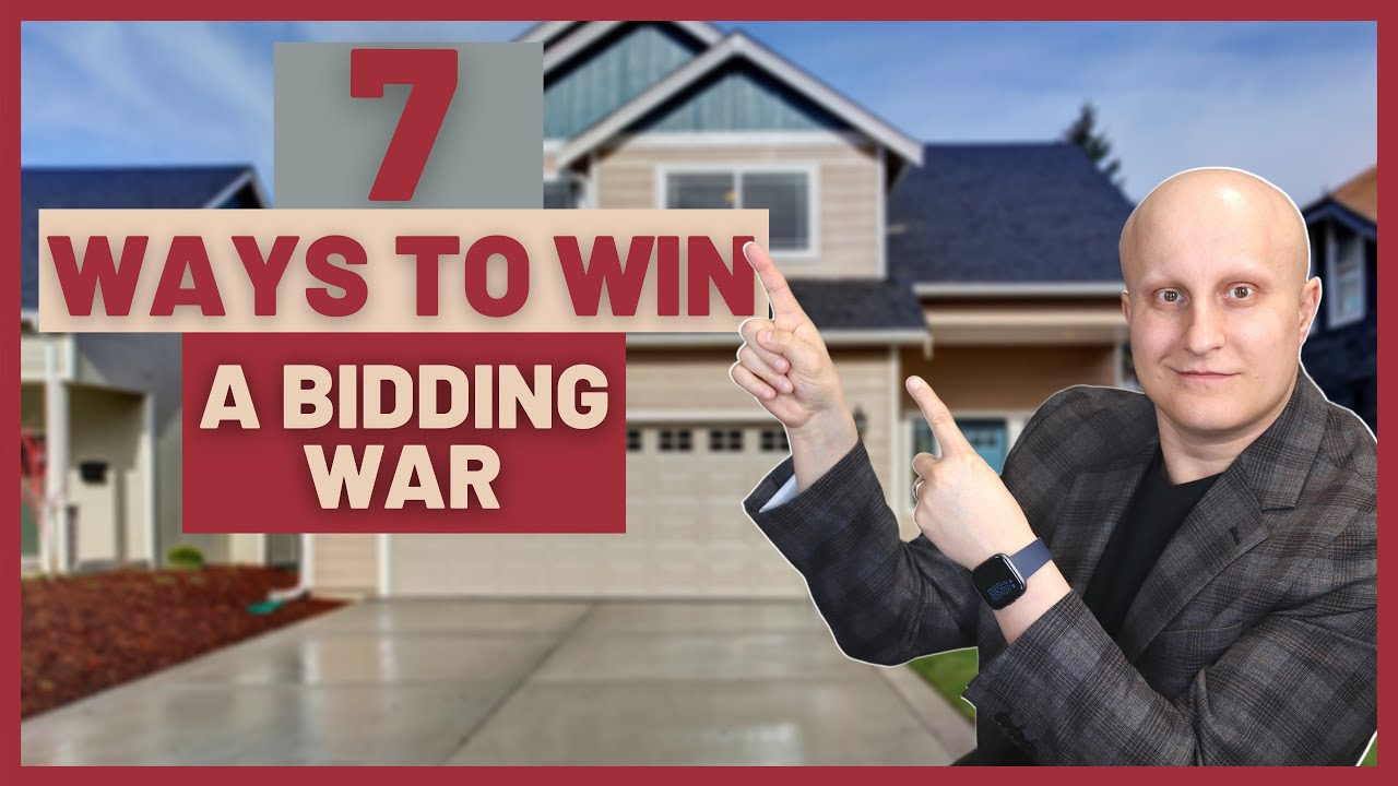 HOW TO WIN IN A HOT REAL ESTATE MARKET   Buying a house in Multiple Offers