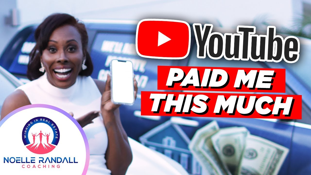 How Much YouTube Paid Me For The First Year