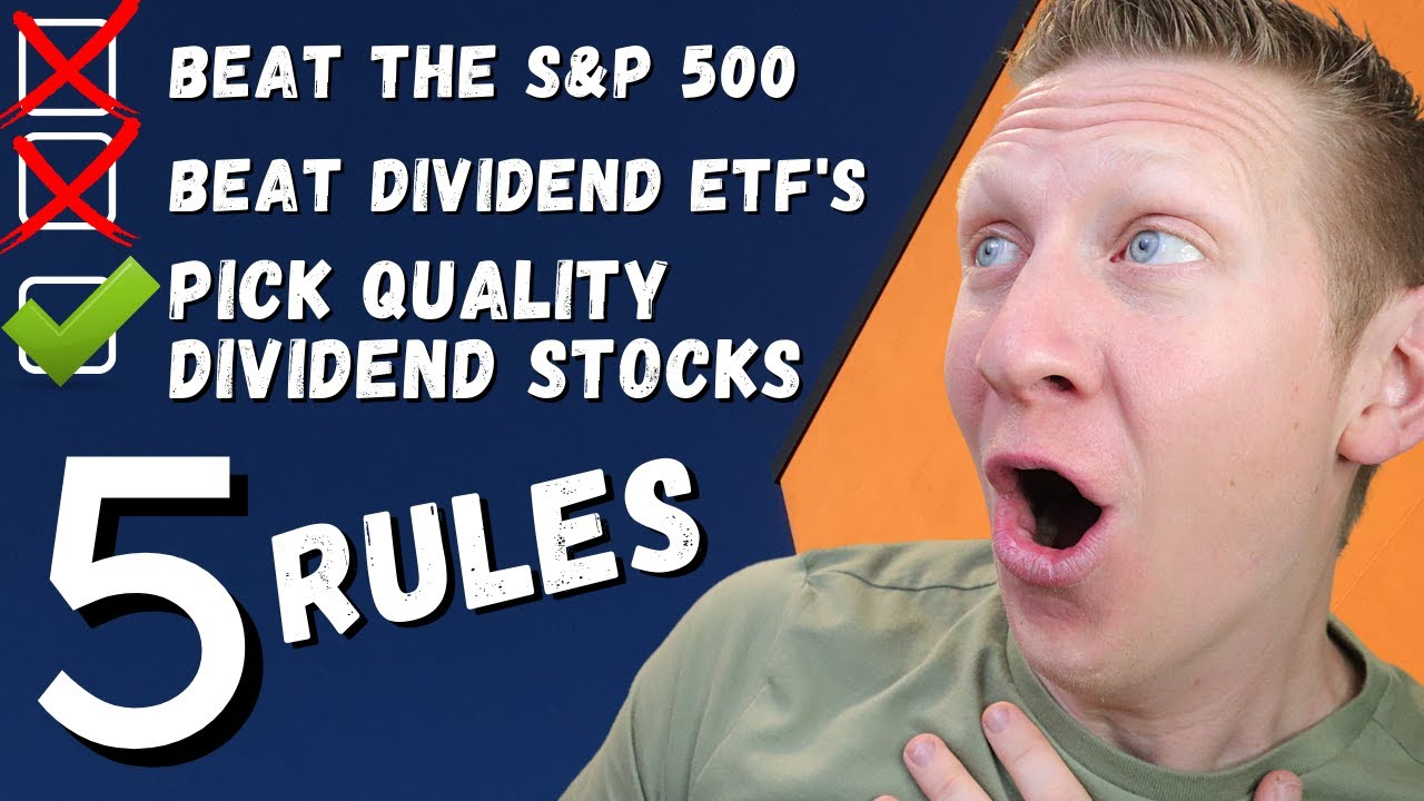 HOW I BEAT THE STOCK MARKET WITH QUALITY DIVIDEND STOCKS
