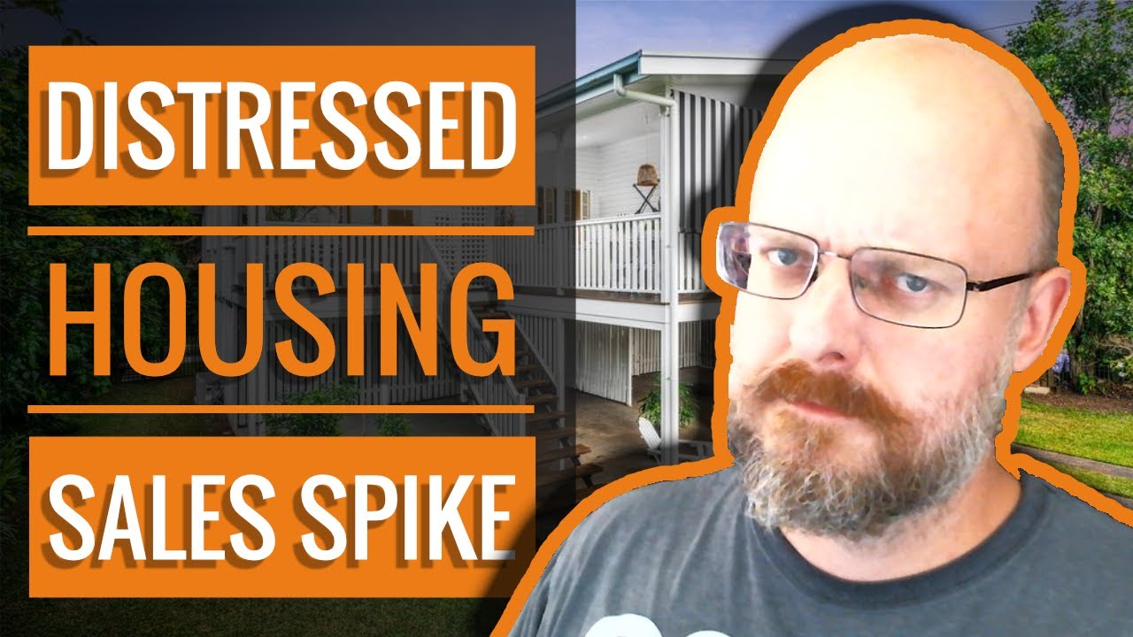 🏚 Distressed Housing Sales Spike | Cairns Real Estate Update