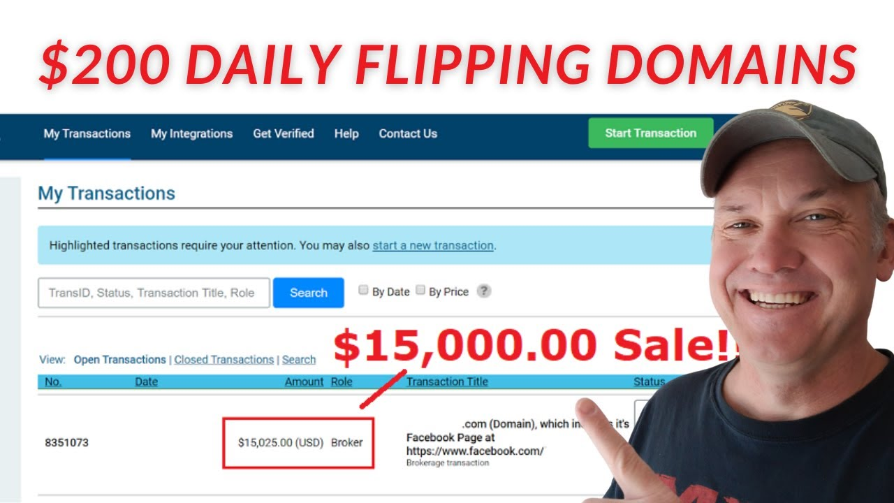 Make $200 Per Day With Domain Flipping (New 2021 Tutorial)