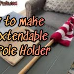 My Boat Flag Pole Holder Invention