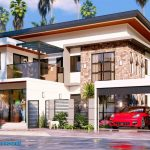 4 Bedroom Modern House Design with Commercial | Exterior & Interior Animation