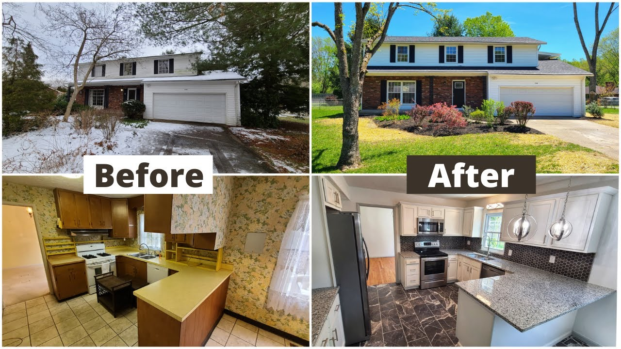 HOUSE FLIP | BEFORE AND AFTER |  SOLD FOR OVER ASKING PRICE!