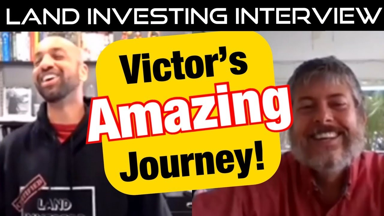 Real Estate Investing: Land Investing Real Estate Interview w/Victor Reynolds
