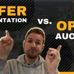 What's better?  Offer Presentation or Open Auctions when buying real estate? I'll let YOU decide!