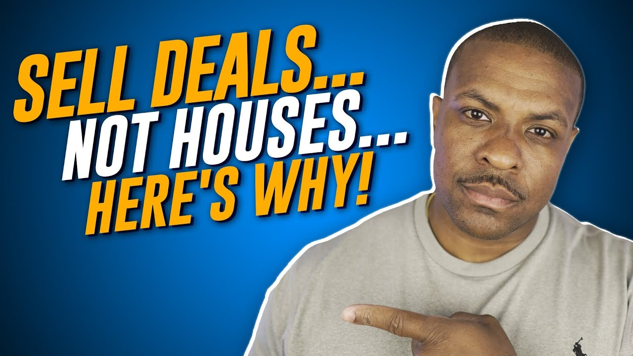 Wholesaling Real Estate For Beginners (Sell Deals NOT Houses)