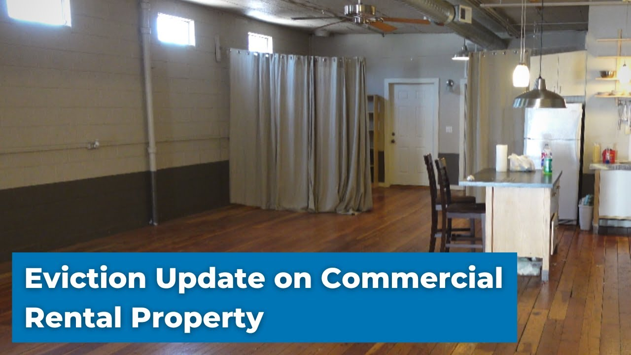 Commercial Property Eviction! How Does it Look After the Tenant Left? Rental #33