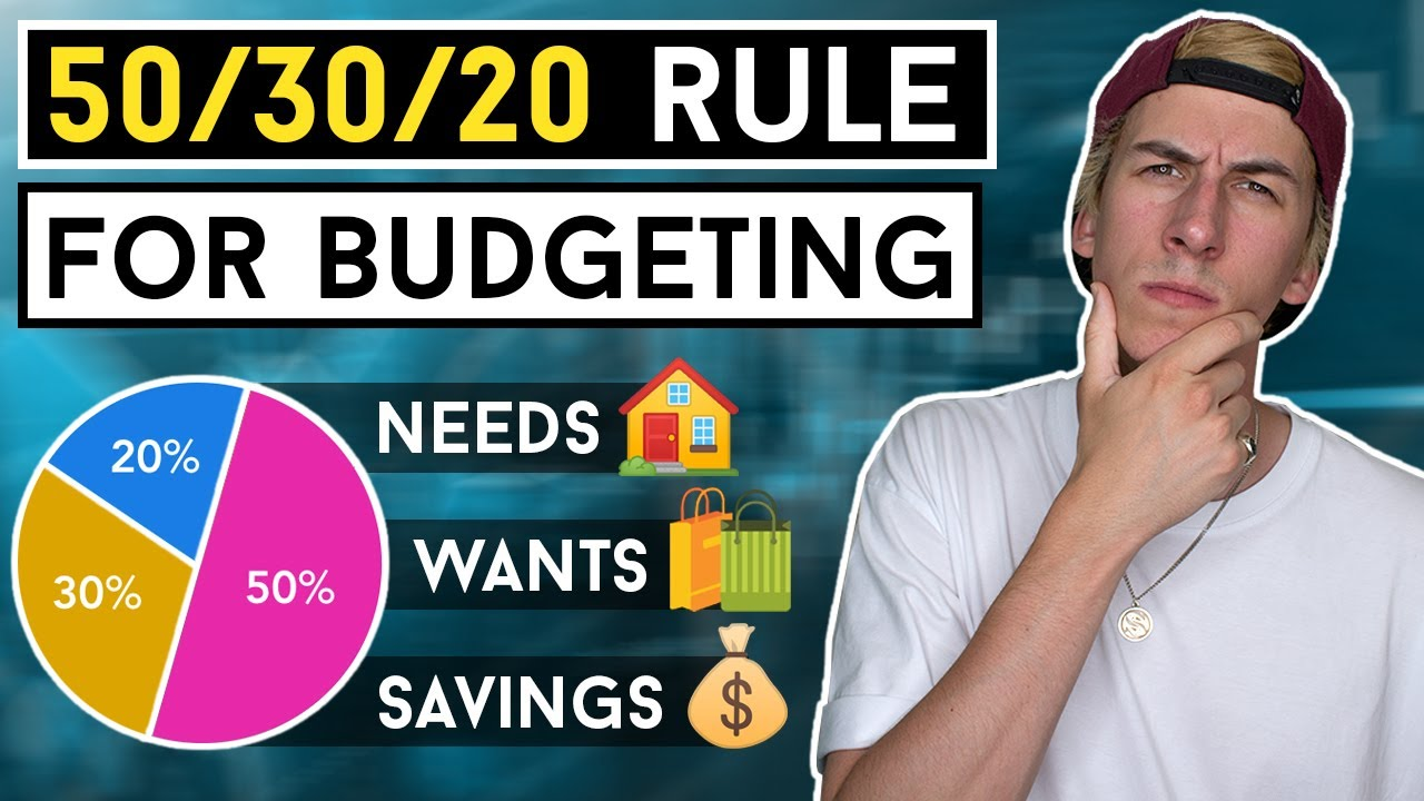 HOW TO BUDGET YOUR MONEY: The 50/30/20 Rule (Beginner Money Management)
