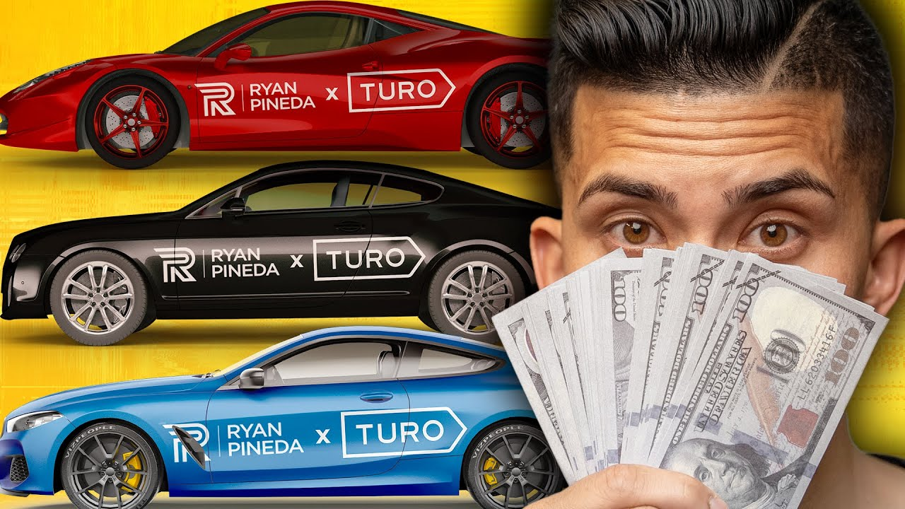 How To Own A Supercar For FREE | Turo Side Hustle