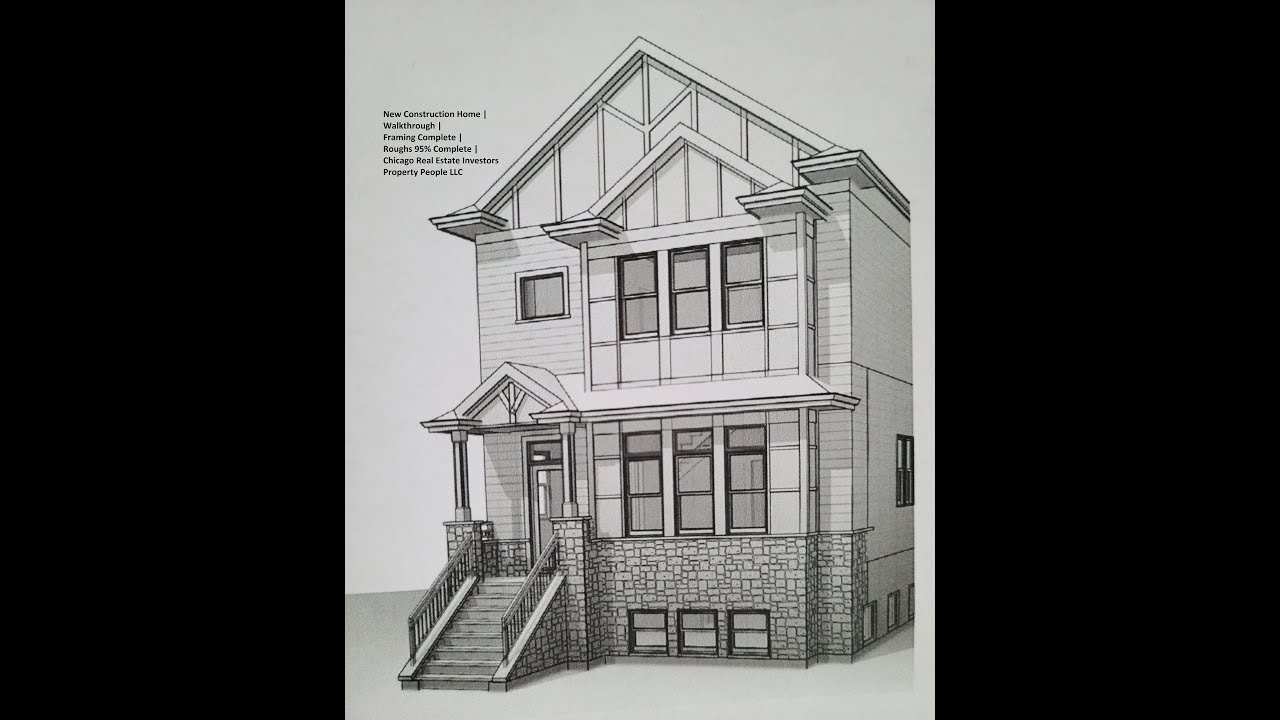 New Construction Home   Walkthrough   How To Flip Homes   Chicago Real Estate Investors