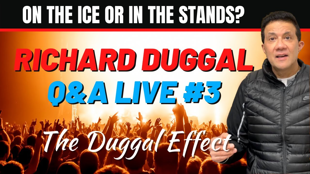 On the ice or in the stands   Real Estate Coaching with Richard Duggal