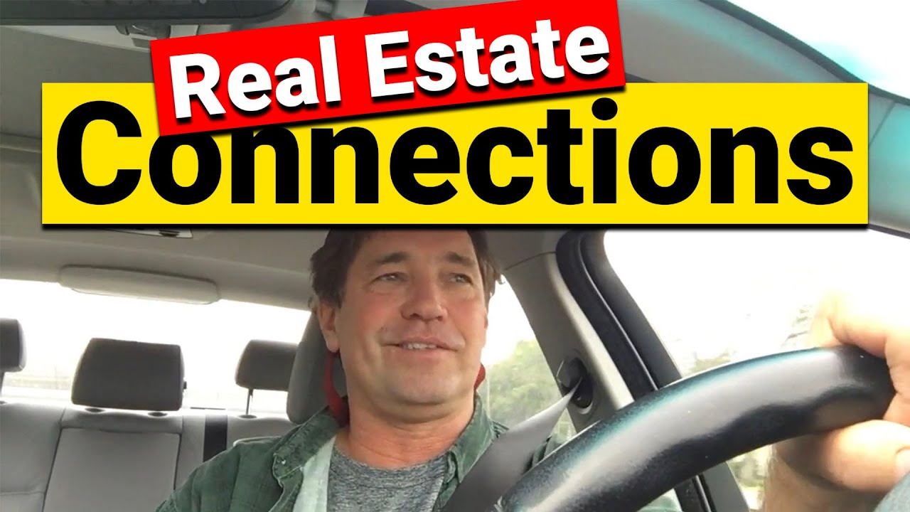 Real Estate Connections - Don't miss out on deals you don't know about