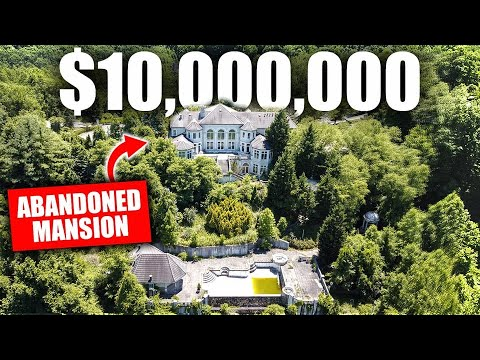 TOURING A $10,000,000 ABANDONED MANSION