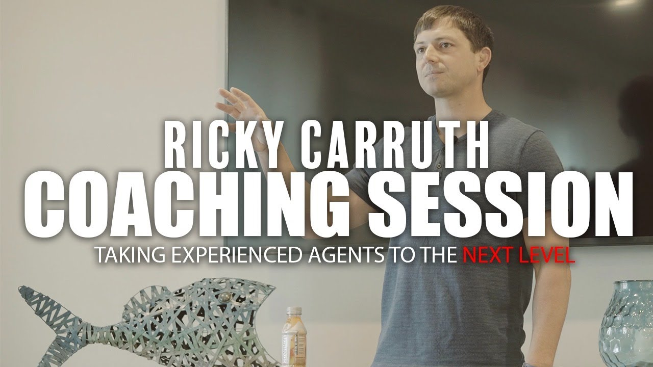 Real Estate Coaching Session: Taking Experienced Agents To The Next Level