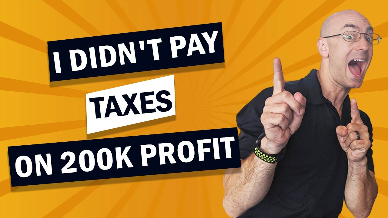 I didn't pay taxes on 200k profit from a house flip! #Shorts
