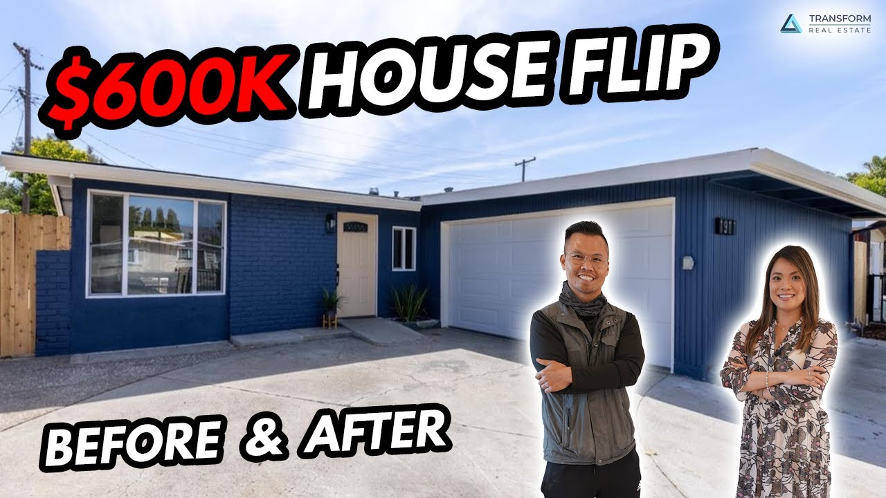 $600K House Flip Before & After - Ranch Style Home Tour, Home Remodel, Entry Level House Flip